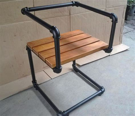 30067 black pipe furniture newest 5 industrial style pipe chairs how to build them