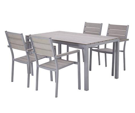 table et chaise de jardin chez leclerc