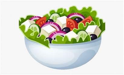 Salad Clipart Fruit Transparent Kawaii Clip Kindpng