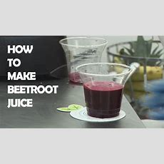 How To Make Beetroot Juice Youtube