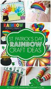10 St. Patrick's Day Rainbow Crafts - Pretty My Party
