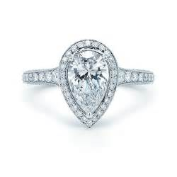 ring settings ring settings for pear shaped diamonds - Shaped Engagement Rings