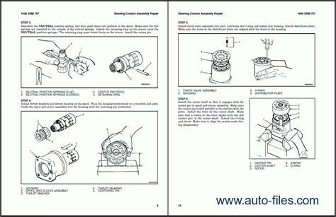 hyster class  electric motor narrow aisle trucks repair