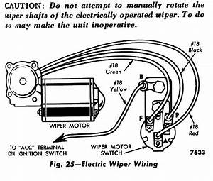 1956 F100 - Electric Wiper Switch Wiring Problem