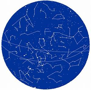 NASA Constellation Sky Map Today - Pics about space