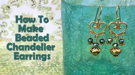 How To Make Chandelier by How To Make Jewelry How To Make Beaded Chandelier