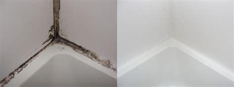 Cleaning Shower Caulk - moldy shower caulk fixed