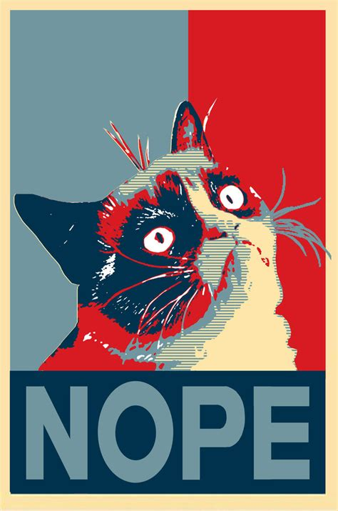 Nop Meme - just say nope grumpy cat know your meme