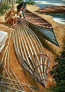 Canoes Used In The Fur Trade by Birchbark Canoe The Canadian Encyclopedia