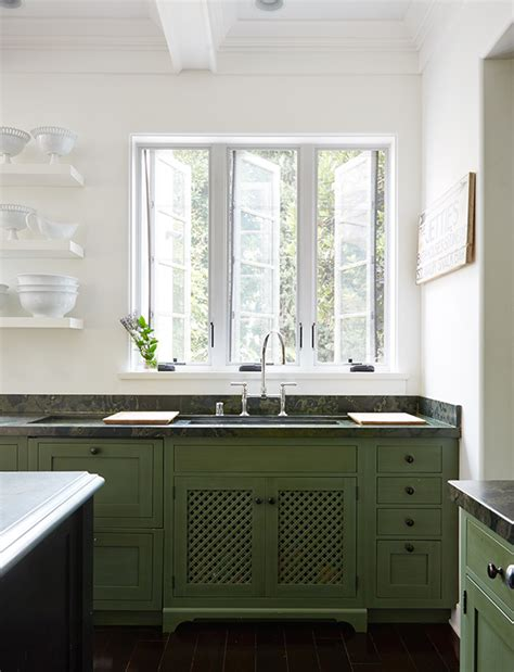 green cabinet kitchen bored of white kitchens discover the cabinet color 1350