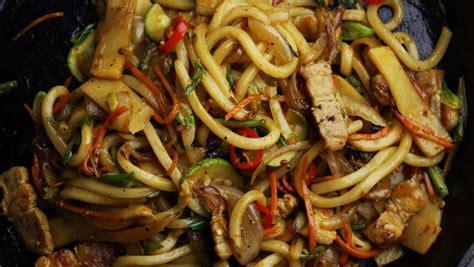 stir fried udon noodles recipe tastemade