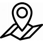 Icon Outline Map Location Svg Onlinewebfonts Virtual