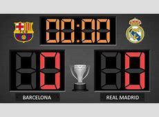 Barcelona vs Real Madrid La Liga historic last round