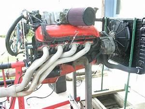 91 U0026 39  454 Chevy Truck Engine