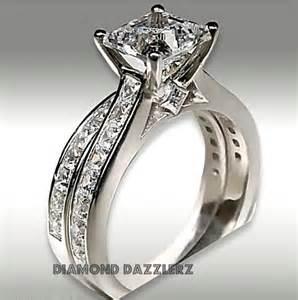 jtv engagement rings bridal sets princess cut bridal sets size 8