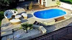 Mini Pool Terrasse : so sch n kann die eigene wellness oase im garten aussehen ~ Michelbontemps.com Haus und Dekorationen
