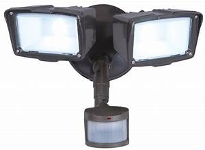 cooper lighting mst18920l twin head floodlight 120 vac With 120 vac outdoor lighting