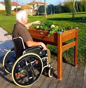 Jardiniere Haute Sur Pied : jardini res sur lev es pmr aide personnes g es handicap papycool ~ Melissatoandfro.com Idées de Décoration
