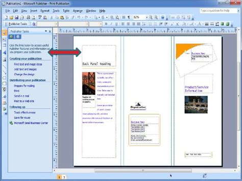 started microsoft publisher powerpoint