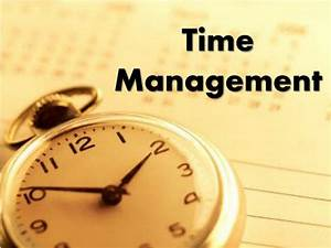 Ppt - Time Management Powerpoint Presentation