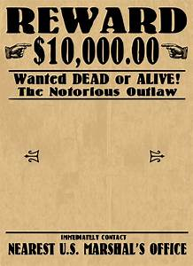 wanted poster blank by j4p4n this is one of those With wanted dead or alive poster template free