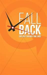 Fall Templates Fall Back Autumn Reminder Religious Bulletin Harvest