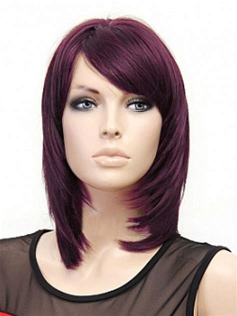 medium length straight layered hairstyles hairstyle for