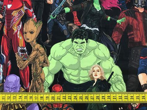 TIM03 Marvel Avengers Infinity War no Elo7   Pannobom (C7687E)