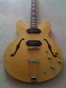 Epiphone Casino Electric Guitar With Custom Made Melvyn