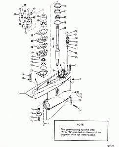 Alpha One Outdrive Parts Diagram