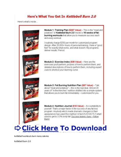 kettlebell burn fat burning workout calories geoff neupert swings many does calorie belly exercises extreme pdf workouts xtreme routine calculator