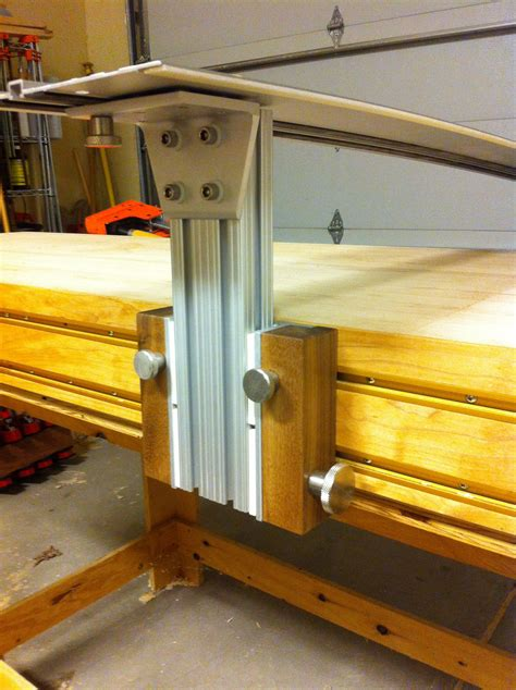 guide rail  incra  track workbench woodworking