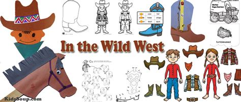 western theme for preschool the west activities crafts and printables kidssoup 976