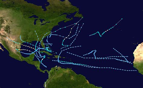 1970 Atlantic Hurricane Season Wikipedia