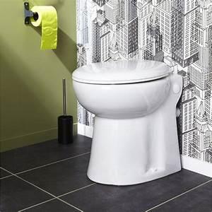 Installer Un Wc : wc poser avec broyeur int gr pulso compact leroy merlin ~ Melissatoandfro.com Idées de Décoration