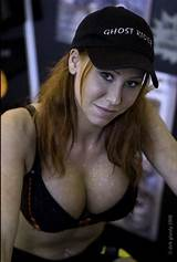 Redhead girl from mythbusters