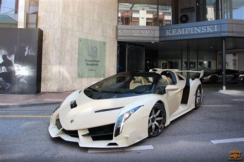 Lamborghini Veneno Roadster And Koenigsegg One 1 Snapped