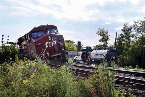 Freight Train Derailment A 'wake-up Call' On Rail Safety