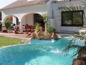 villa piscine chauffee clima plage marbella 1000 With location maison piscine privee espagne 10 location villa marbella espagne 04 location espagne villas