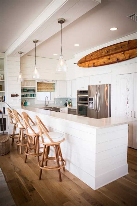 fantastic coastal kitchen designs   beach house