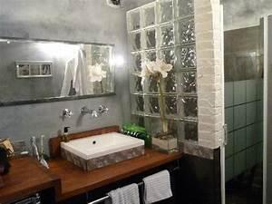 Salle De Bain En L : salle de bain avec jacuzzi et douche ~ Melissatoandfro.com Idées de Décoration
