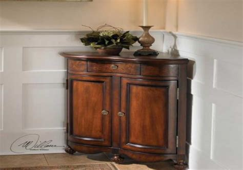 corner storage cabinet corner storage cabinet for living room in brown color
