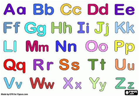 Letra de molde mayuscula o minuscula Imagui Preschool