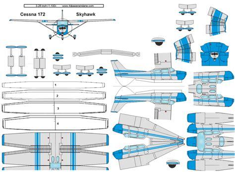cessna 172 templates 4d model template of cessna 172 skyhawk 4dpa