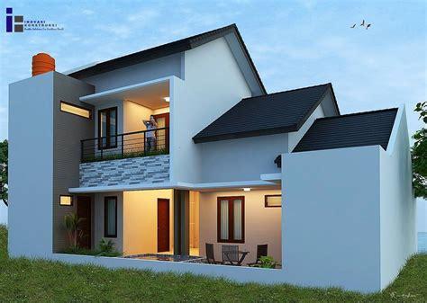 gambar desain rumah minimalis  lantai bagian belakang