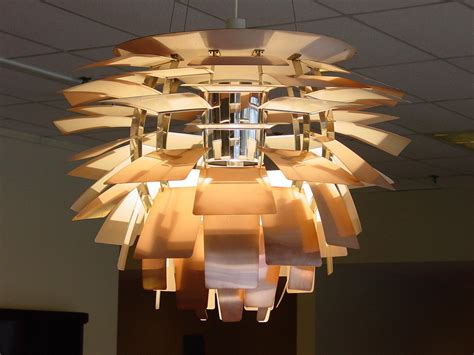 Artichoke Lamp In Copper Made In Denmark By Louis Poulsen