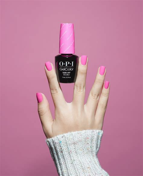 pretty  pink  long lasting  gelcolor opi fiji