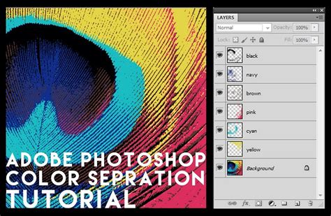 color separation color separation in adobe photoshop