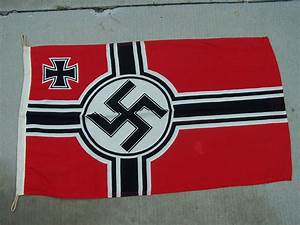 While Germany banned the Nazi flag, is the World War II ...