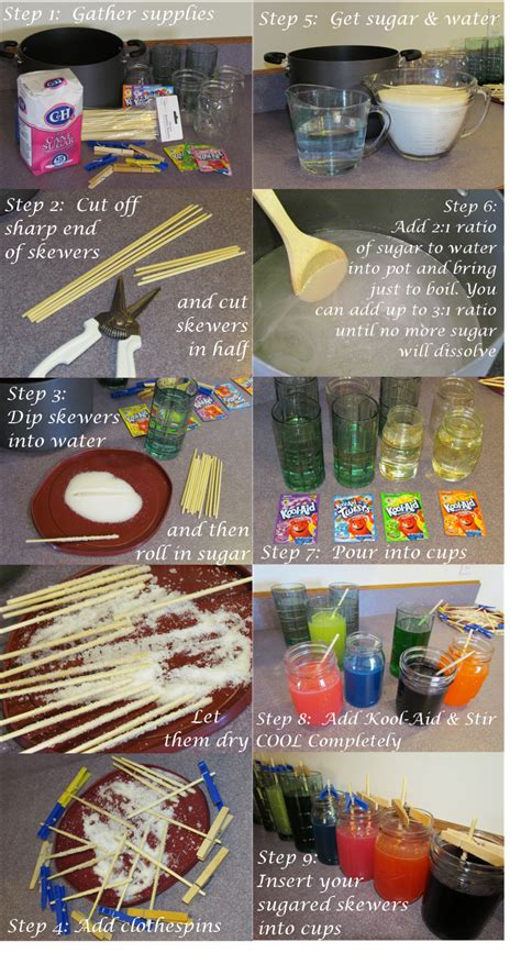 how do you make rock party crafting how to how not to make rock candy